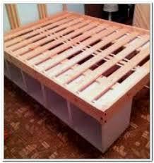 Build Bed Frame With Storage Bed Frame Diy Bed Frame With Drawers Build Your Own Diy Bed