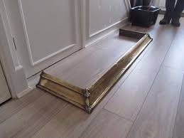 antique solid brass fireplace hearth fender in poole dorset