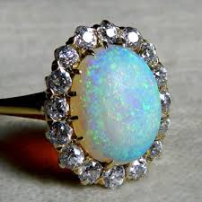vintage opal engagement rings shop opal rings on wanelo