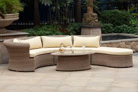 Vintage Cast Aluminum Patio Furniture - vintage circular patio furniture home and garden decor