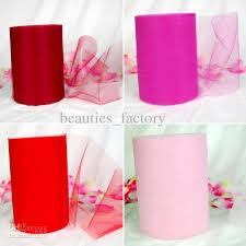 spool of tulle pink tulle roll spool 6x100 yard tutu wedding gift bow bridal