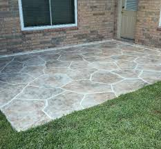 Concrete Patio Houston Concrete Resurfacing Resurfacing Concrete For Custom Jobs