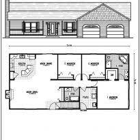 Unique Open Floor Plans House Open Floor Plans Escortsea Open Floor Plans One Story Crtable