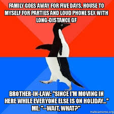 Phone Sex Meme - family goes away for five days house to myself for parties and loud