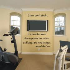 home gym wall decor 12 best home exercise room images on pinterest workout rooms