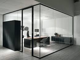 Industrial Office Desks by Modern Black Glass Office Desk Glacier Modern Glass Home Office