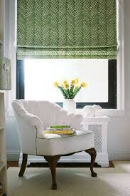 Printed Fabric Roman Shades - roman shades up to 36