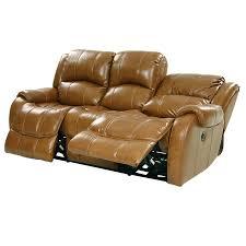 hindrick tan recliner leather sofa el dorado furniture