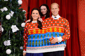 sweater for family a waxwork royal family dons sweaters for