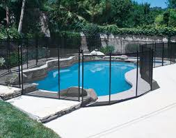 fence design pool safety fence guard above ground best temporary