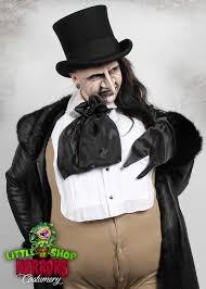 Batman Penguin Halloween Costume Shop Horrors Costumery Oswald Cobblepot Penguin