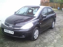 nissan tiida se four door saloonparbold cars
