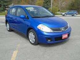 compact nissan versa 2009 nissan versa hatchback blue 6 bob currie auto sales