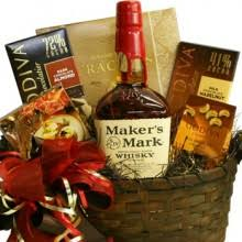 bourbon gift basket build a basket bourbon and whisky pre designed gift baskets