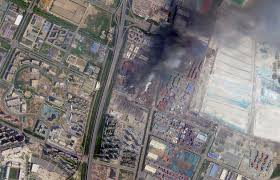Google Maps Las Vegas by Maps Videos And Photos Of The Explosions In China The New York