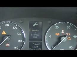 how much is service c for mercedes mercedes c class w203 service light reset 2000 2007