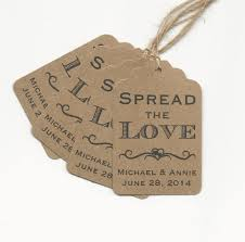 wedding wish tags 50 spread the personalized handmade tags wedding wish tags