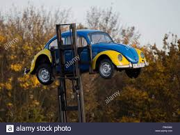 yellow volkswagen beetle royalty free peine germany 05th nov 2015 an old volkswagen beetle with the