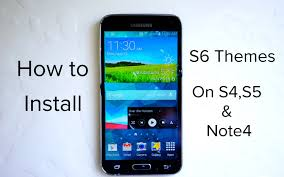 galaxy themes store apk how to install galaxy s6 themes on galaxy s4 s5 note 4 youtube