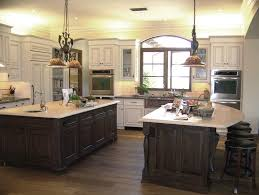 two island kitchens island kitchen ideas to awesome inspirations colored