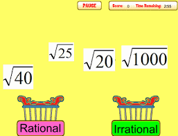 know that there are numbers that are not rational and approximate