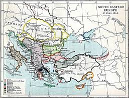 Eastern European Map by South Eastern Europe Map 1354 1358 A D Full Size