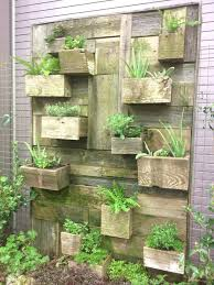 appealing diy wall planter vertical vegetable garden house design