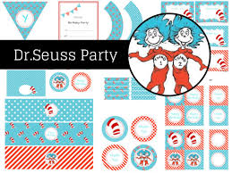 dr seuss cat in the hat u0026 thing one thing two birthday party
