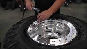 jeep beadlock wheels atx wheels tech tips how to mount a beadlock wheel youtube