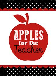 Teacher Gift Basket Apples For The Teacher Gift Basket Tag My Sister U0027s Suitcase