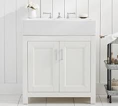 Single Bathroom Vanities Single Bathroom Vanities Pottery Barn