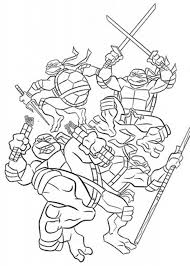 ninja turtles coloring pages print ninja turtle