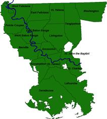 louisiana florida map rflp region 4 louisiana s florida parishes mississippi river