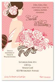 bridal invitation blushing beauty in pink invitations myexpression 20785