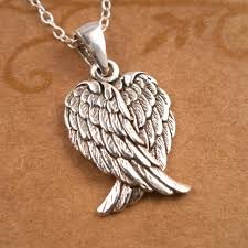 jewelry wings necklace images Sterling silver angel wings necklace silver willow jewellery jpg