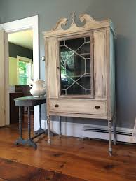 chalk paint cabinets distressed distressed china cabinet dining room beach with chalk paint china