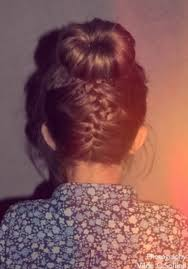 upsidedown bob hairstyles cute upside down french braid bun updo braid hair ideas