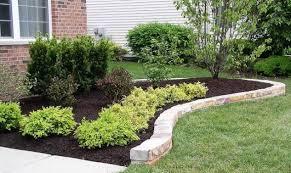 Landscaping Edging Ideas Interesting Design Edging Stones For Landscaping Pleasing