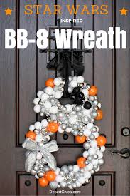 star wars bb 8 inspired wreath wreaths bb and deserts