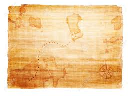 Map With Compass Old Treasure Map With Compass Stock Photo Picture And Royalty