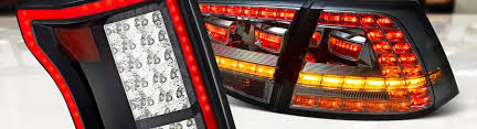 Buddy Club Tail Lights Led Tail Lights Custom Bolt On Black Chrome Smoke U2013 Carid Com