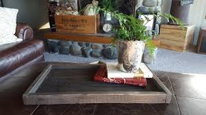 rustic wood serving tray rustic home decor farmhouse decor