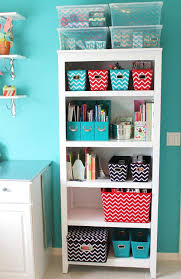 20 bedroom organization tips to make the most of a small space great way to organize my stuff in my room storage organization idea using this bookcase and chevron storage from target