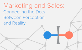 marketing and sales connecting the dots between perception and