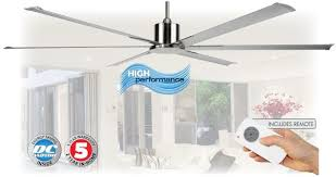 84 inch ceiling fan chrome dc ceiling fan 214cm remote high flow maelstrom