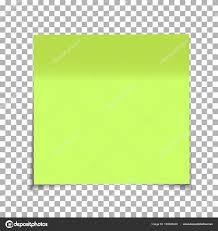 pense bete bureau bureau vert papier pense bête isolé sur fond transparent poster