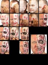 Halloween Makeup Sets by Halloween Makeup Set Cartoon Zombie Makeup Theatrical Make Up