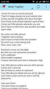 Common The Light Lyrics Lyrics Of Monster High Android Apps On Google Play