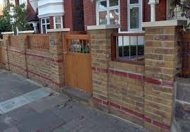 garden brick wall design ideas walls garden design with saunders construction essex builders