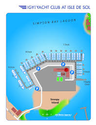 St Thomas Island Map Island Global Yachting U003e U003e Marinas